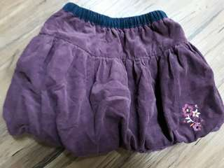 Skirt purple