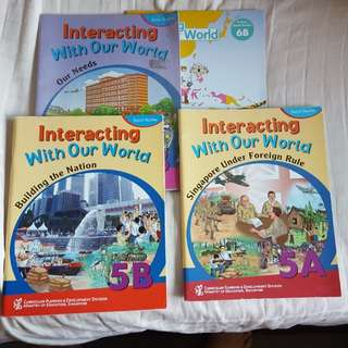 Social Studies Textbooks Primary School