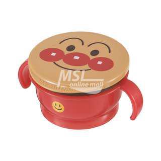 💥六折💥【原裝進口】【💯全新現貨】日本麵包超人Anpanman 雙握把防漏零食杯、點心盒