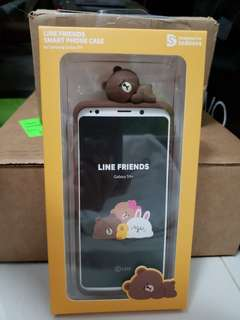 LINE Friends Samsung S9+ phone case