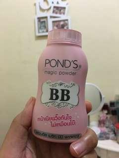 REPRICE ponds magic powder bb BPOM Indonesia