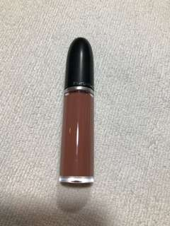 mac retro matte liquid lipcolor in burnt spice
