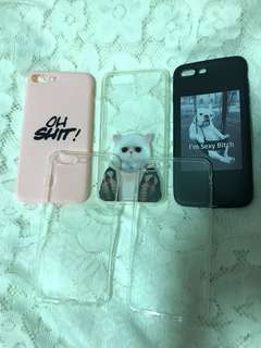 iPhone 7 Plus 電話殻 電話套 手機套 手機殻 螢幕貼
