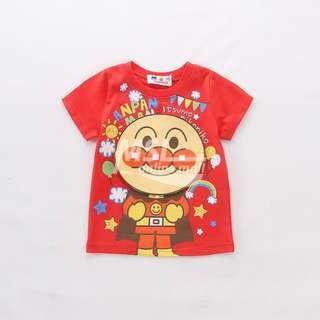 【原裝進口】【全新現貨】日本麵包超人Anpanman短袖T恤【2017夏季新款】