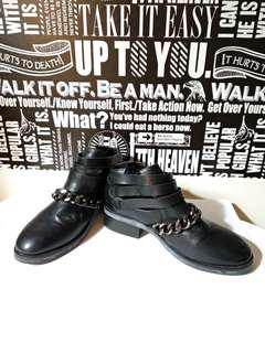 F21 black shoes