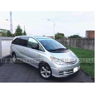 2003年-TOYOTA- 培利亞 2.4 買車不是夢想.輕鬆低月付.歡迎加LINE.電(店)洽