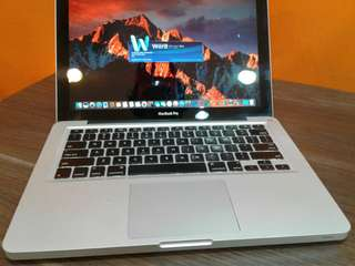 macbook pro makinis core i5 mid 2011  13-inches