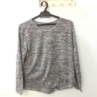 Knitted Grey Shirt