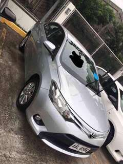 Toyota Vios 1.3E 2014 model