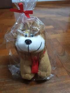 Free lion soft toy to bless