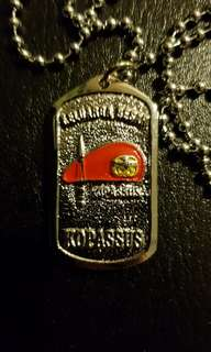 TNI Indonesian Army Kopassus Special Forces Necklace