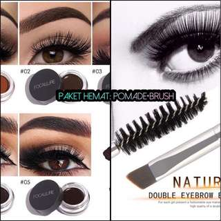 Focallure Eyebrow Pomade and brush