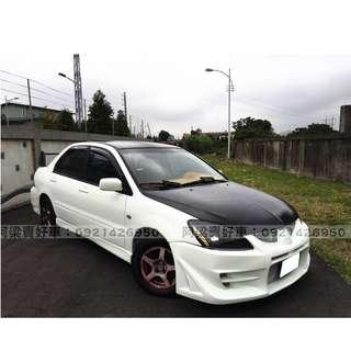 2004年- 三菱-Global Lancer 買車不是夢想.輕鬆低月付.歡迎加LINE.電(店)洽