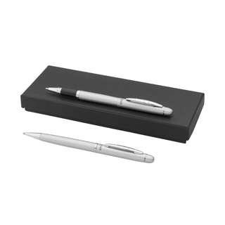 Balmain Ball pen and Rollerball pen Gift Set (2 Pens) SILVER