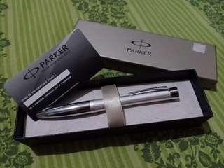 Parker Pen White Color