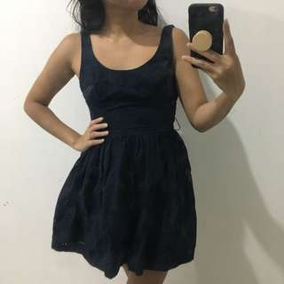 Abercrombie & Fitch Navy Dress