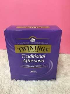 🚚 🇬🇧英國Twinings 唐寧 傳統下午茶 100入