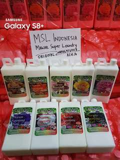 Pewangi Super Laundry MSL Indonesia Original by Wardah
