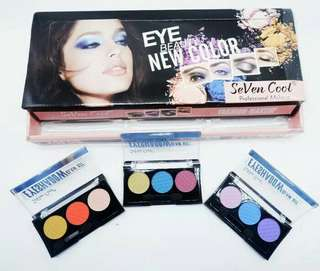 EYE BEAUTY - SEVEN COLOR EYESHADOW MAKE UP