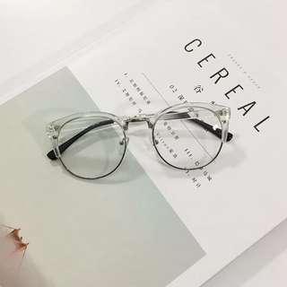 🚚 原宿復古平光鏡👓