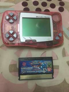 Wonderswan + Digimon Tape