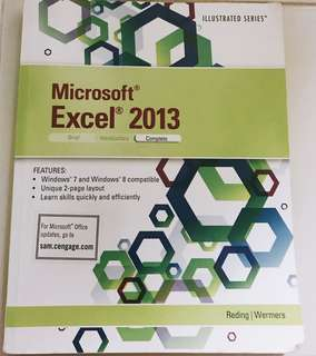 Microsoft Excel 2013 Textbook