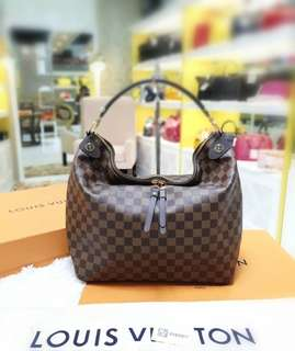 Louis Vuitton Duomo Hobo Damier Ebene ❤BIG SALE P69,800 ONLY❤ Used twice only .Good as Bnew! Complete with box dustbag cards and paperbag  Swipe for detailed pics  Cash/card/layaway accepted