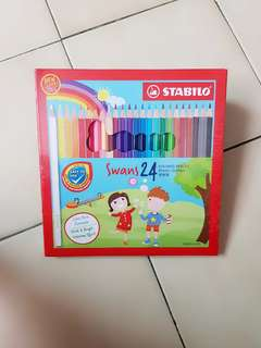 Colored Pencils 24 / Jumbo Pencils 12 (BNIB)