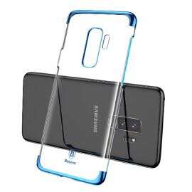 S9 / S9 Plus 電鍍保護套 贈送 3D 保護貼 ( Blue 藍色 ) Electroplating Series Durable slim Hard Case For Samsung Galaxy S9 S9 Plus + 3D Tempered Glass Screen Protector Guard Baseus