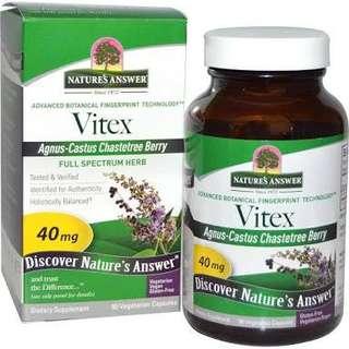 Vitex Chasteberry 90 capsules