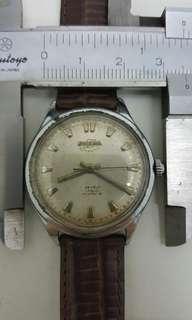 Vintage enicar 上鍊錶,行走正常,古董錶