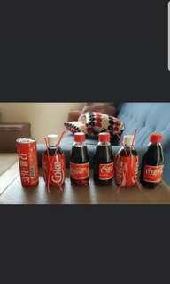 Coca Cola Displayed Bottle