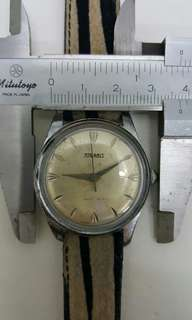 Vintage tugaris watch,上鍊,行走正常,古董錶