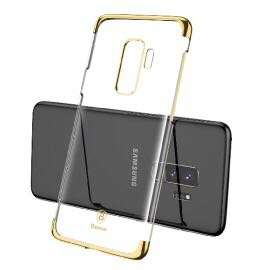 S9 / S9 Plus 電鍍保護套 贈送 3D 保護貼 ( 金色 Gold ) Electroplating Series Durable slim Hard Case For Samsung Galaxy S9 S9 Plus + 3D Tempered Glass Screen Protector Guard Baseus
