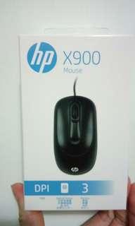 🚚 HP x900有線滑鼠