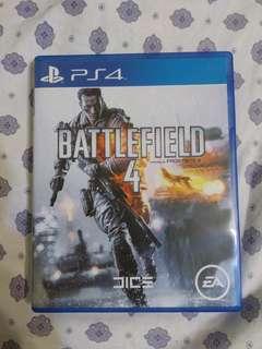 PS4 戰地風雲4 Battlefield 4 二手
