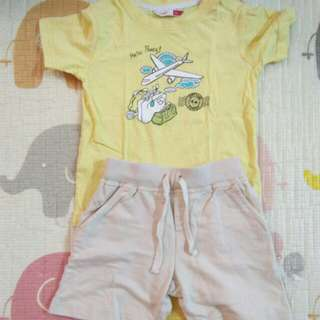 Poney Shirt&Pants
