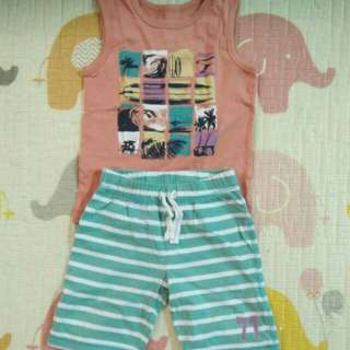 Mothercare singlet&pants
