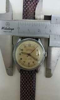 Vintage halton watch, 上鍊,行走正常,古董錶