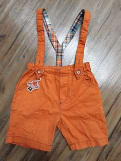 Jumpsuit short pants