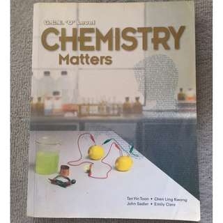 🚚 O Level Chemistry Textbook