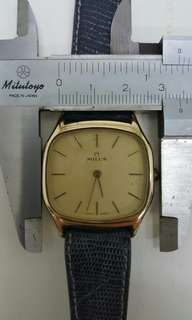 Vintage milus watch,上錬,行走正常,古董錶。