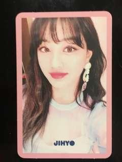 Jihyo signal photocard