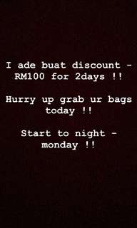 Discount -RM100
