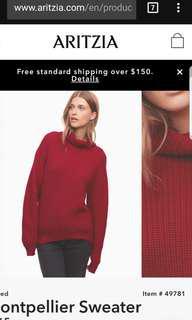Aritzia sweater, XS