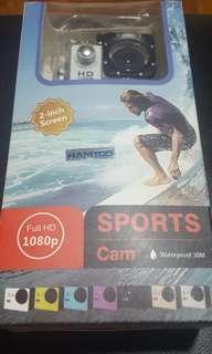 Waterproof sports Cam