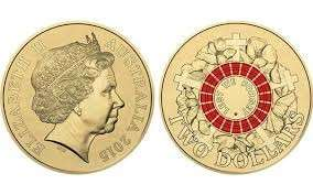 Australia issues fourth circulating $2 coin with colour  2015
