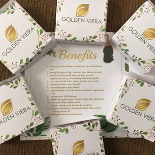 1 PCS GOLDEN VIERA SOAP