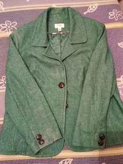 Bright Green Thick Blazer