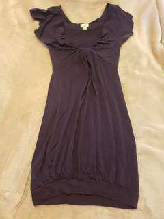Aritzia dress, purple in XXS